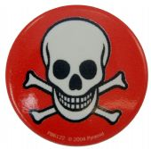 Skull & Crossbones - Button Badge